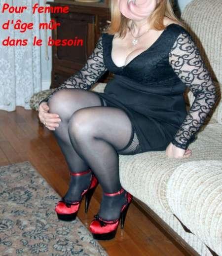 Pour femme d'âge mûr